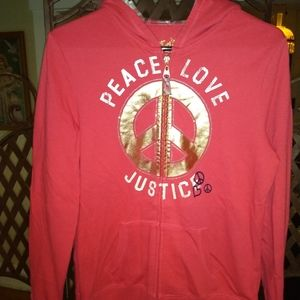 Justice hoodie Youth L